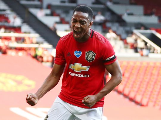 Premier League: Anthony Martial does the trick to end Manchester ...