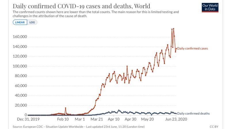 COVID-19 data June 23, 2020