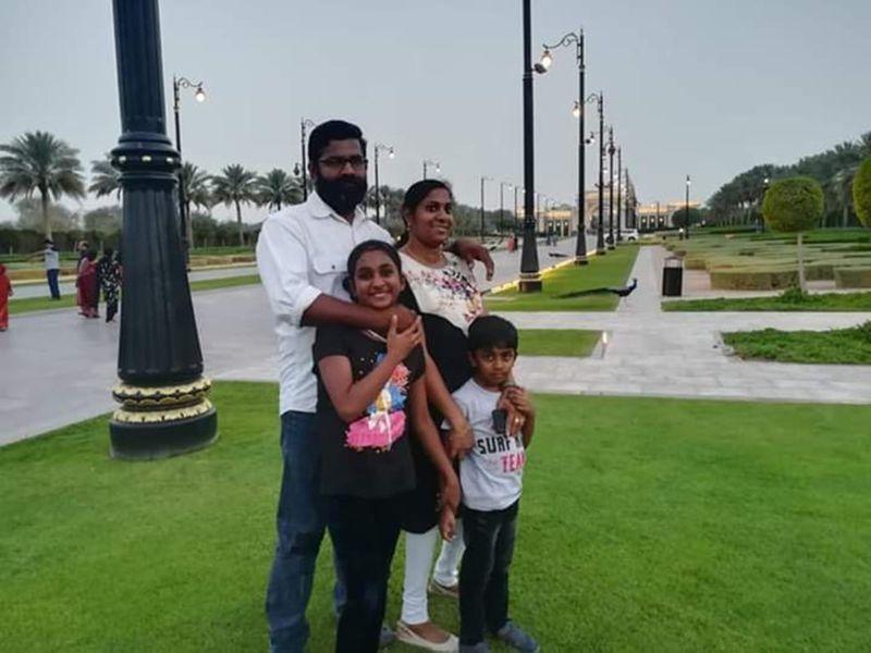 NAT Binu John and family-1593000503798