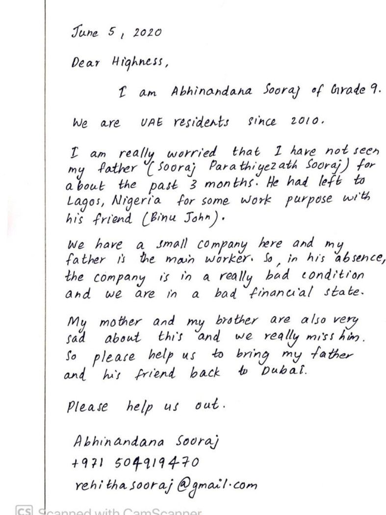 NAT Letters by daughter of Sooraj-1593000509840