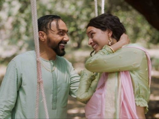 Rahul Bose and Tripti Dimri in 'Bulbbul'