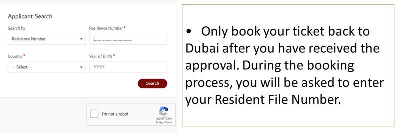 Returning to the UAE - Emirates guidelines