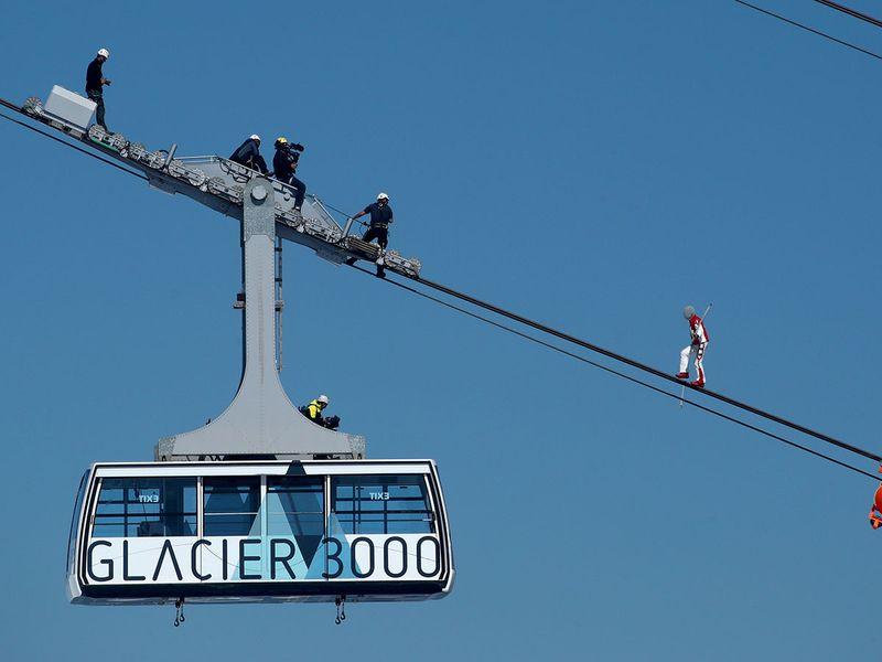 Swiss acrobat