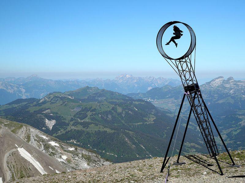 Swiss acrobats