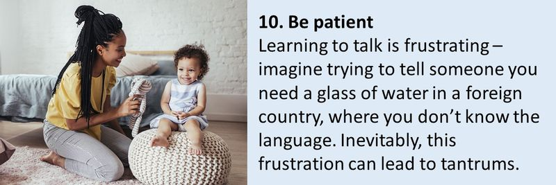 BC 10 tips for teaching your toddler to talk 10