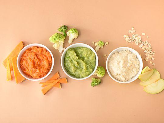BC baby food purées
