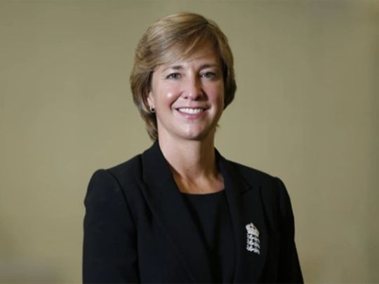 Clare Connor, the new MCC president