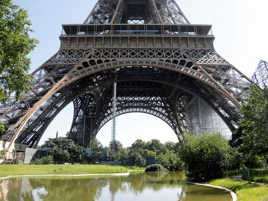 COVID -19: Eiffel Tower reopens to visitors in Paris with restrictions - Gulf News