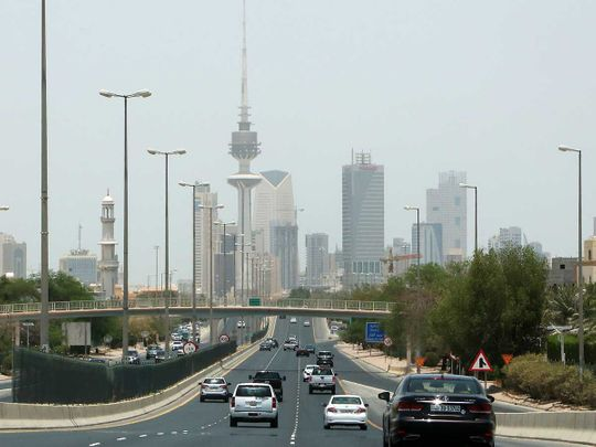 Kuwait city highway