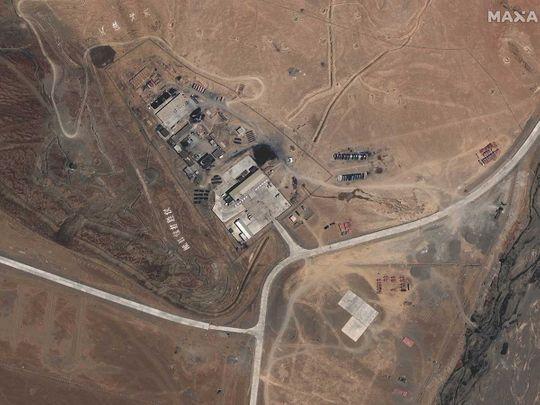 Maxar WorldView-3 satellite image  PLA india china border
