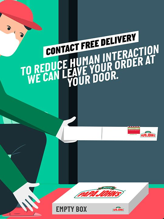 Papa John's Pizza Contact Free Delivery