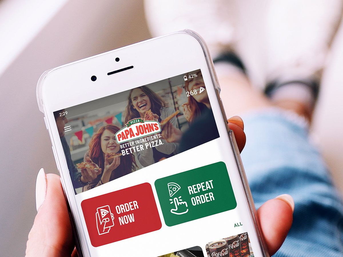 Papa John's Pizza UAE app