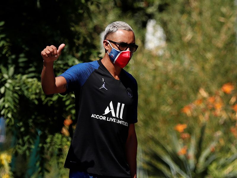 Paris St-Germain return to training following the coronavirus outbreak.