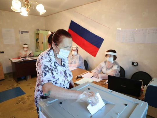 Russia polls elections early vote