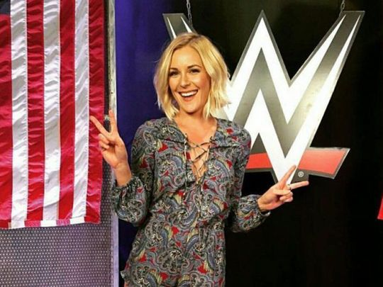 WWE star Renee Young