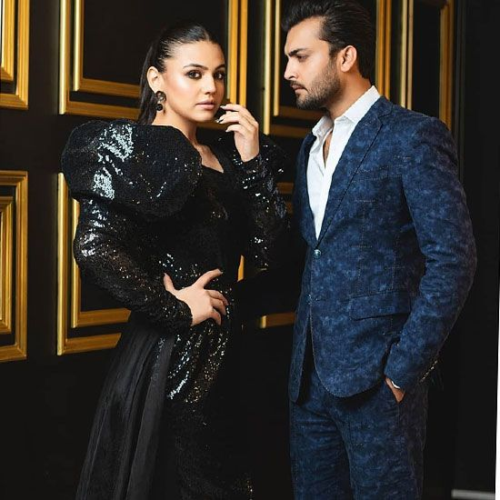Zara Noor Abbas and Asad Siddiqui