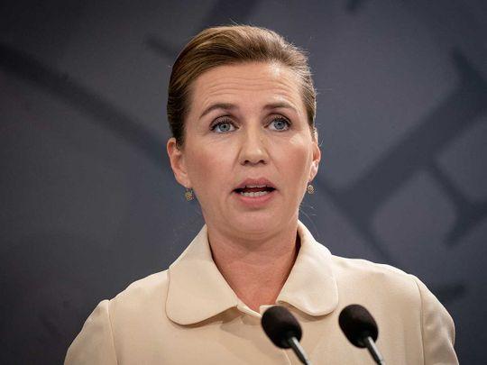 Danish Prime Minister Mette Frederiksen Denmark Copenhagen