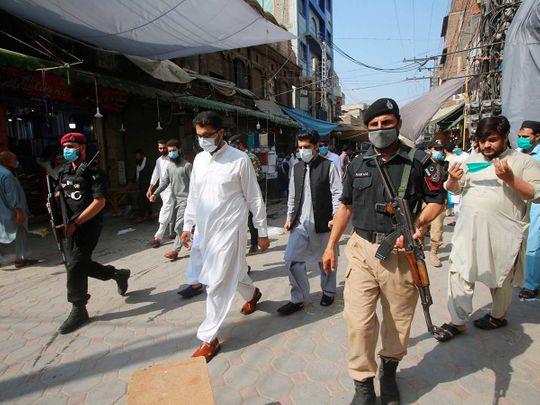 Pakistan SOP market Peshawar