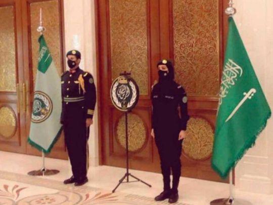 Saudi Royal Guards