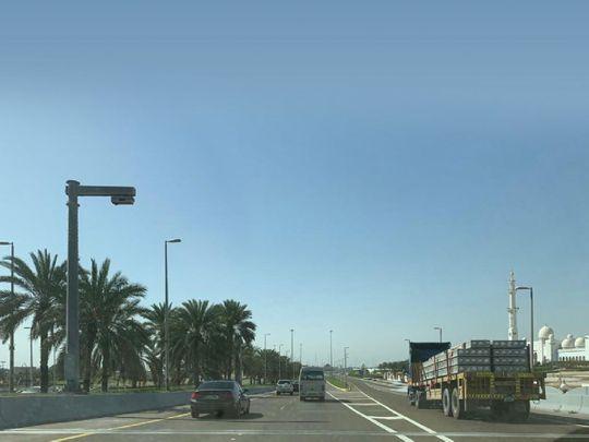 Abu Dhabi trucks banned during rush hour