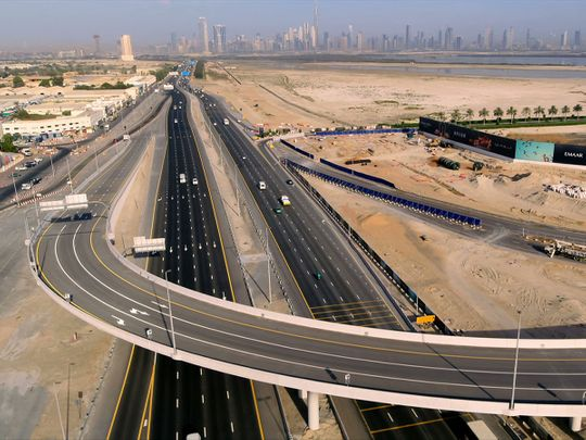 Dubai's Roads and Transport Authority (RTA) announced the opening of a 740-metre bridge leading to Dubai Creek Harbour on Saturday.