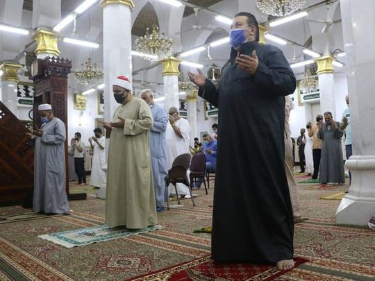 Egypt mosque covid