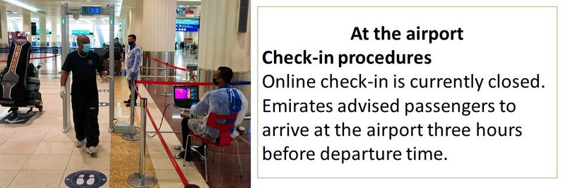 dubai is open - guidelines for passengers