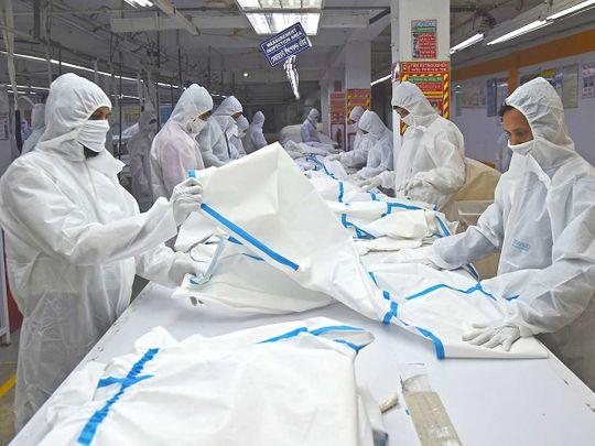 High street to PPE: Bangladesh garment makers turn COVID-19 gloom into boom - Gulf News