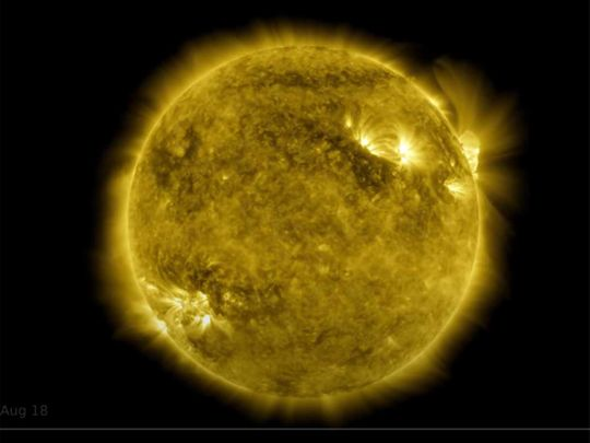 Watch: NASA video shows 10-year time lapse of sun in 61 minutes