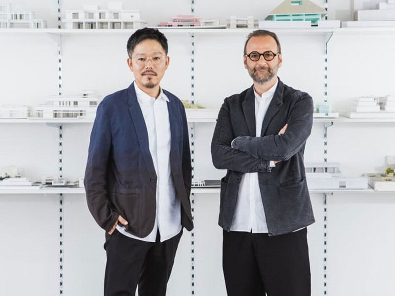 Lebanese expat Wael Al Awar and Japanese national Kenichi Teramoto said salt can be developed as a natural and renewable alternative to Portland cement, which is the most common type of building material around the world.