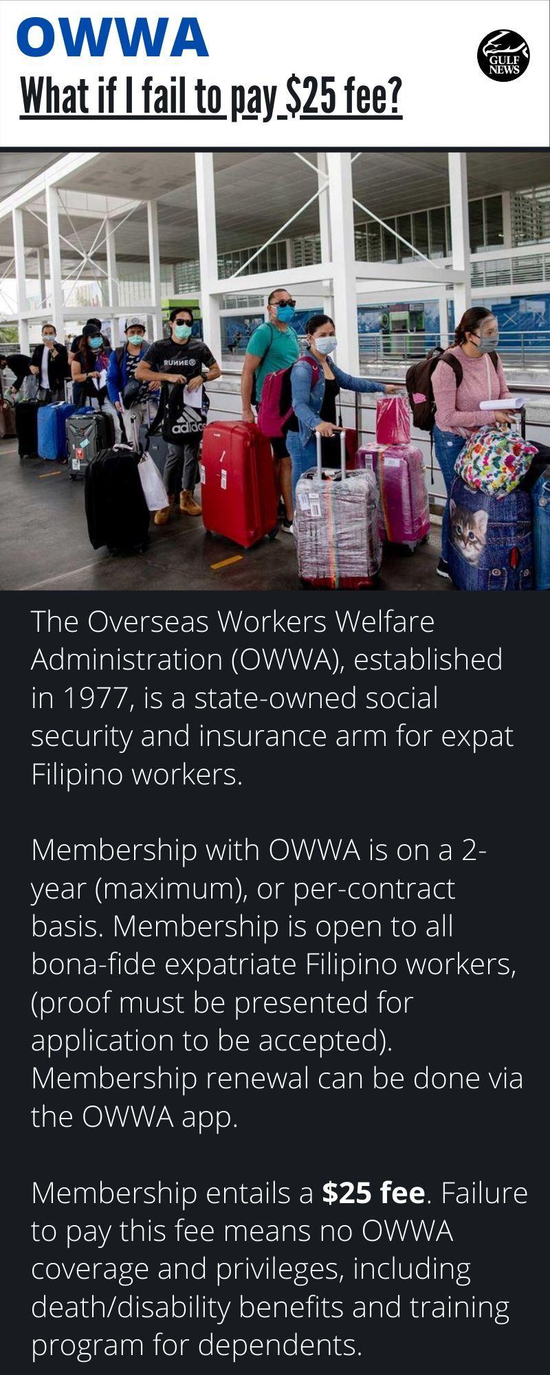 OWWA $25