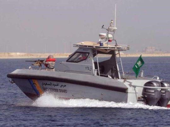 Saudi coast guards