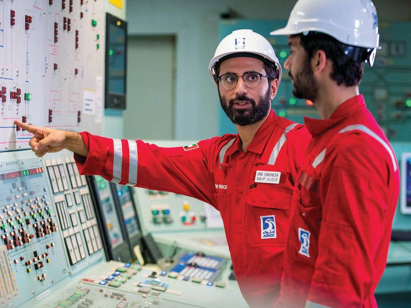 Seafarers go through checks in Fujairah