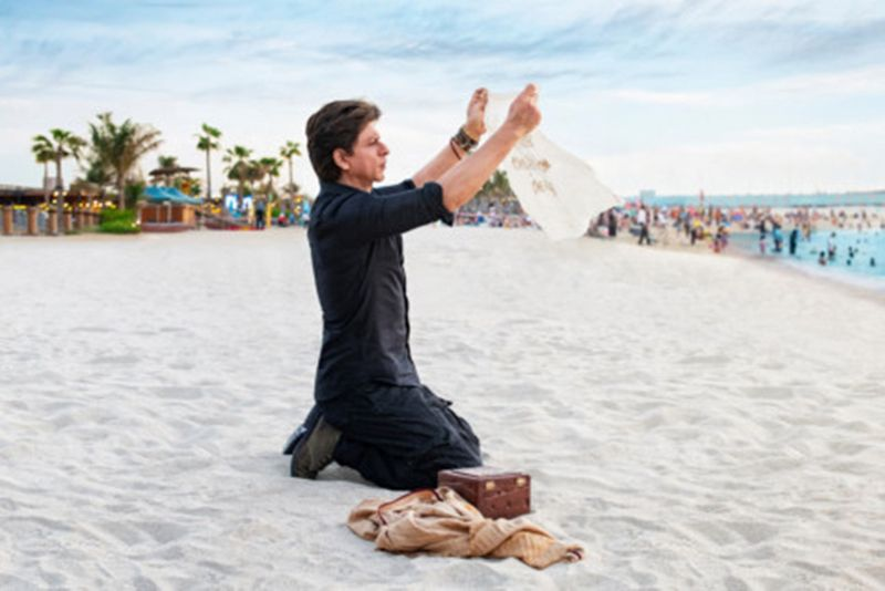 Shah Rukh Khan in the Be My Guest campaign by Dubai Tourism