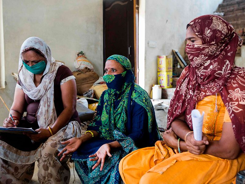 Army of women health workers on India's virus front line
