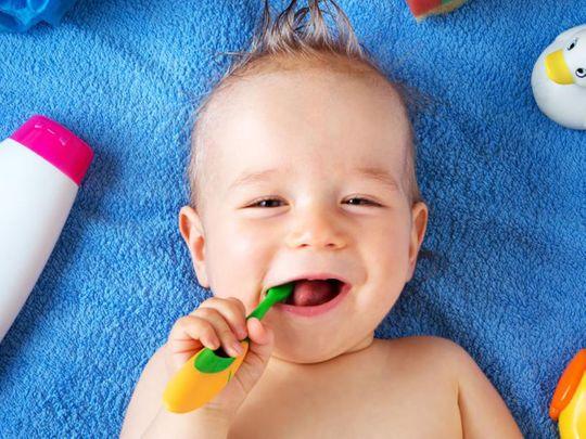 BC Tips on brushing kids' teeth