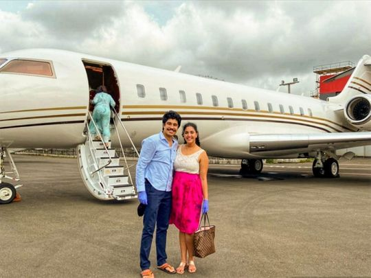 Ria and Rohan Bhatia