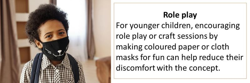 Children face mask