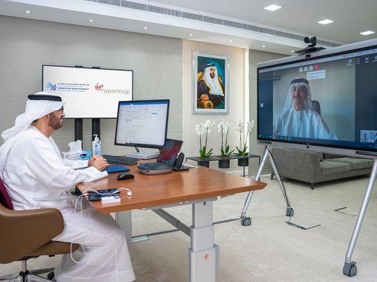 Mohamed bin Zayed University of Artificial Intelligence enters a hyperloop partnership