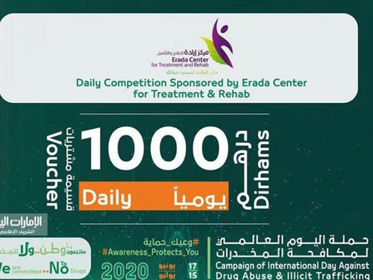Win Dh1,000 in cash by taking part in a Dubai Police contest
