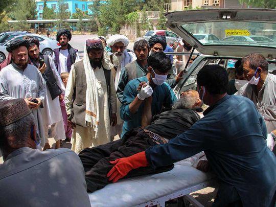 Afghan cattle market blast Sangin