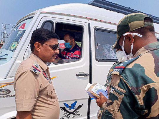 BSF Pakistan High Commission officials Attari border