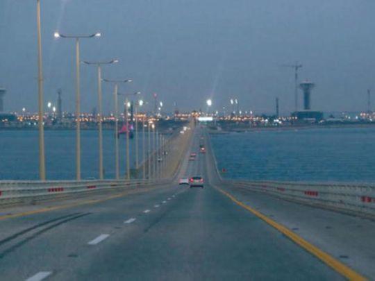 Bahrain-Saudi Arabia King Fahd Causeway