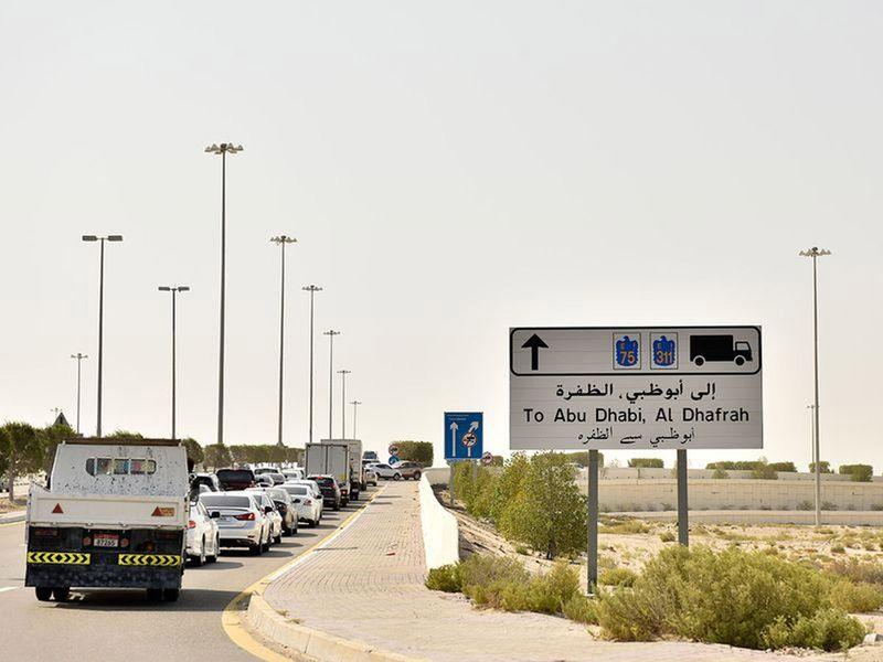 COVID-19 test for entering Abu Dhabi