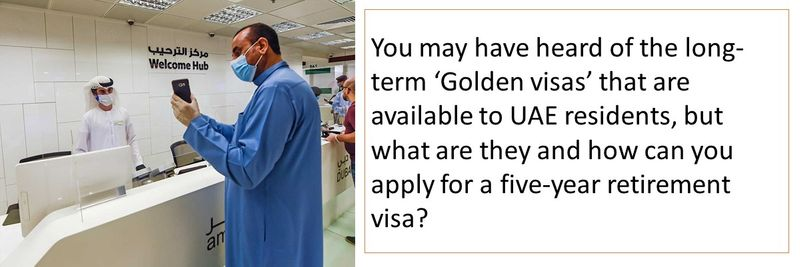 Five year retirement visa