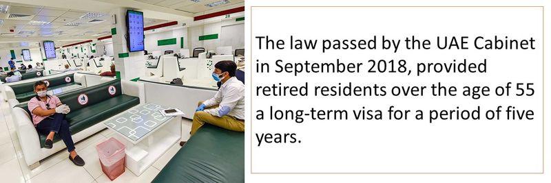 Five year retirement visa