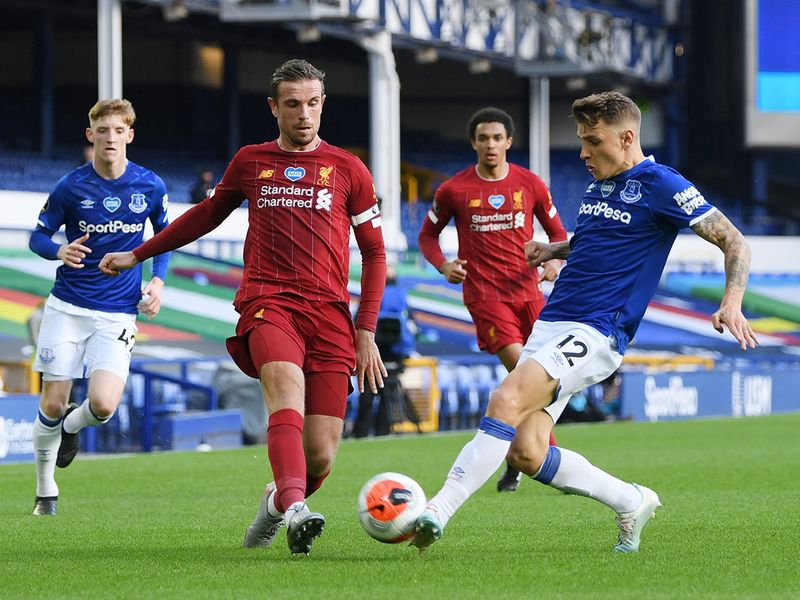Liverpool were held to a 0-0 draw at Goodison Park