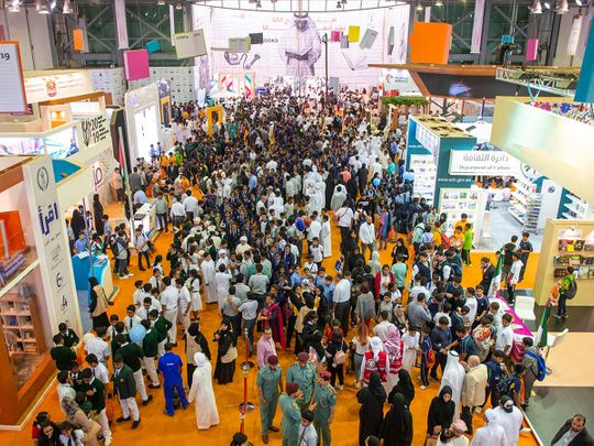 Sharjah Book Fair space for November's event is already sold out