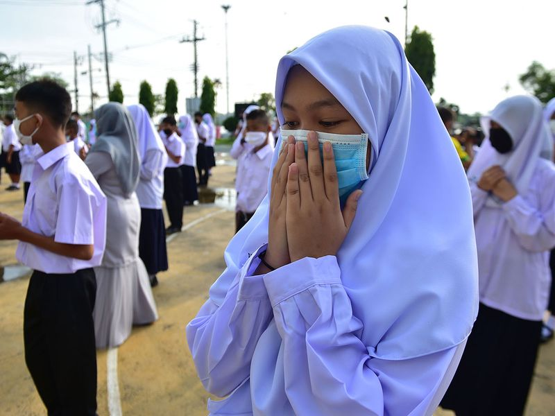 Thailand schools reopen with strict hygiene rules