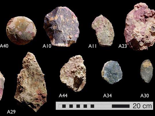 Australia underwater artefacts aborigine